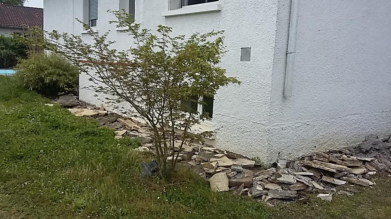 R novation de jardin pibrac brin de nature - Bande de bruyere ...