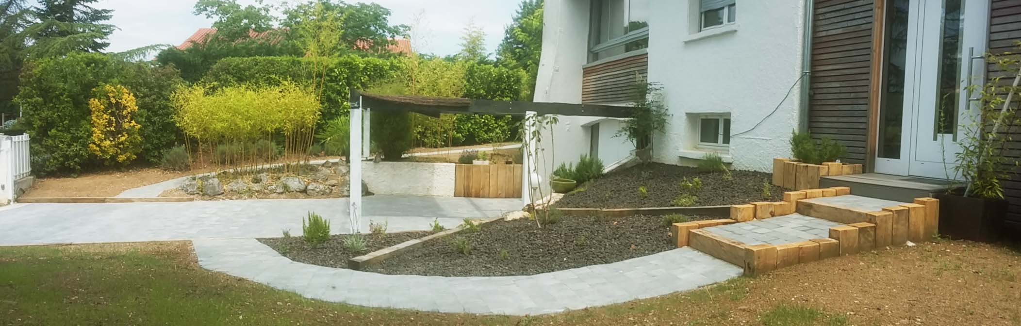 R novation de jardin pibrac brin de nature for Renovation jardin