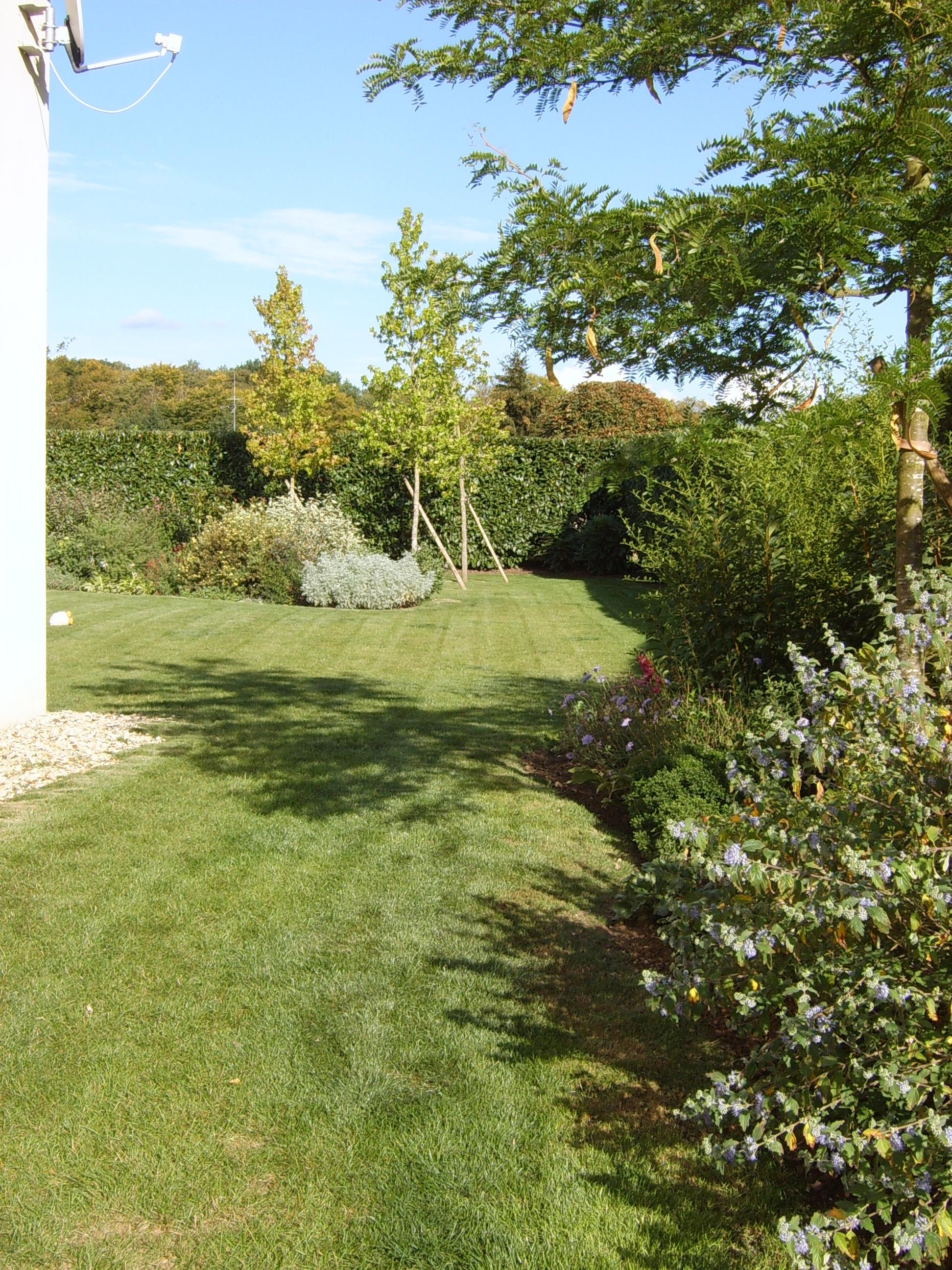 Contrat d'entretien annuel dans un jardin de particulier